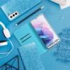 Forcell SHINING Book Samsung Galaxy A72 LTE ( 4G ) telefontok light blue