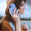 Forcell Silicone SAMSUNG Galaxy A52 5G / A52 LTE ( 4G ) telefontok dark blue