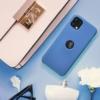 Forcell Silicone SAMSUNG Galaxy A72 LTE ( 4G ) telefontok dark blue