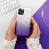 Forcell SHINING SAMSUNG Galaxy A72 LTE ( 4G ) telefontok clear/violet