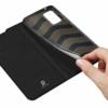 Dux Ducis Skin Pro iPhone XR fekete flipcover telefontok