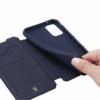 Dux Ducis Skin Pro iPhone 7 / 8 / SE 20 sötétkék flipcover telefontok