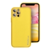 """Forcell LEATHER bőr telefontok IPHONE 11 ( 6,1"""" ) yellow"""