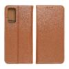 Forcell SMART PRO bőr telefontok SAMSUNG Galaxy A72 LTE (4G) brown