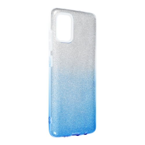 Forcell SHINING SAMSUNG Galaxy A52 5G / A52 LTE ( 4G ) telefontok clear/blue