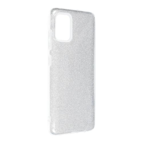 Forcell SHINING SAMSUNG Galaxy A52 5G / A52 LTE ( 4G ) telefontok silver