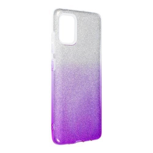 Forcell SHINING SAMSUNG Galaxy A52 5G / A52 LTE ( 4G ) telefontok clear/violet