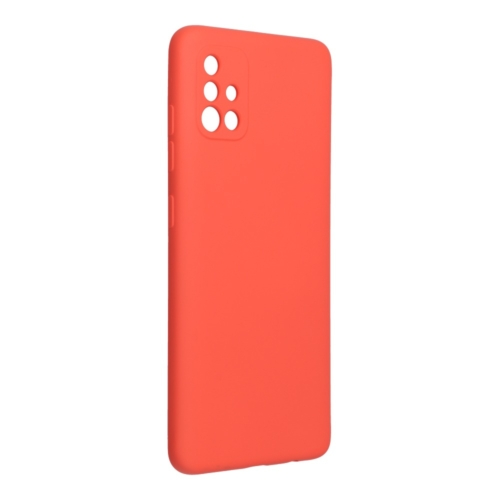 Forcell SILICONE LITE SAMSUNG Galaxy A52 / A52 5G telefontok pink