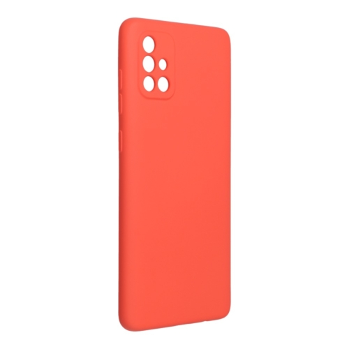 Forcell SILICONE LITE SAMSUNG Galaxy A72 telefontok pink