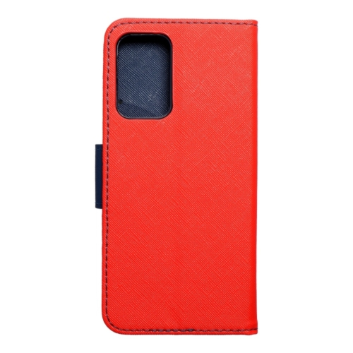 Fancy Book Samsung Galaxy A52 LTE / A52 5G telefontok red/navy