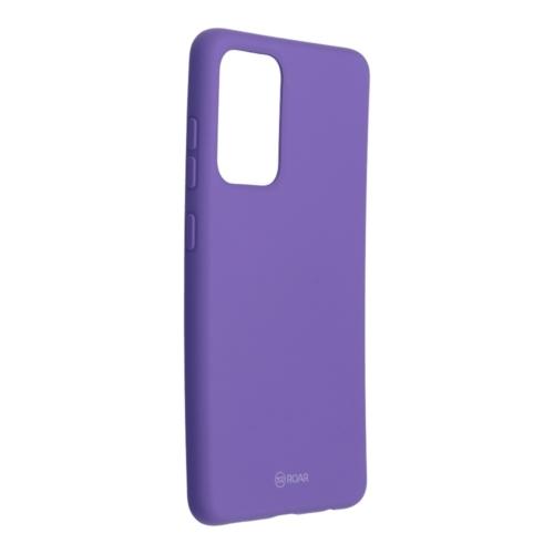 Roar Colorful Jelly Case - Samsung Galaxy A52 5G / A52 LTE ( 4G ) telefontok purple