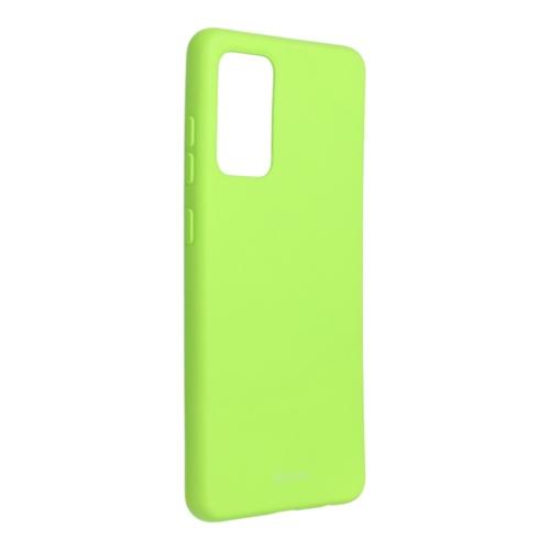 Roar Colorful Jelly Case - Samsung Galaxy A72 5G telefontok lime