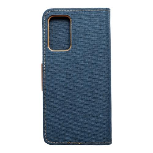 Canvas Book Samsung Galaxy A72 LTE ( 4G ) telefontok navy blue