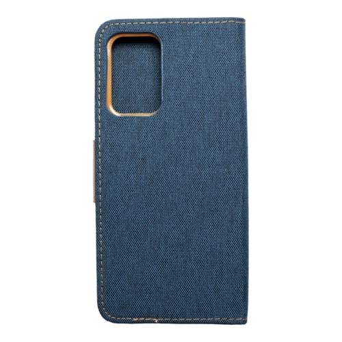 Canvas Book Samsung Galaxy A52 5G / A52 LTE ( 4G ) telefontok navy blue