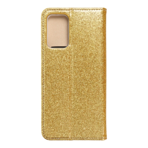 Forcell SHINING Book Samsung Galaxy A72 LTE ( 4G ) telefontok gold