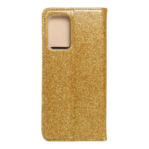 Forcell SHINING Book Samsung Galaxy A52 5G / A52 LTE ( 4G ) telefontok gold