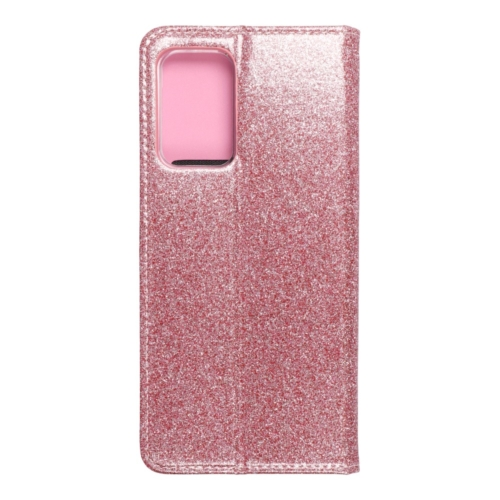 Forcell SHINING Book Samsung Galaxy A52 5G / A52 LTE ( 4G ) telefontok rose gold