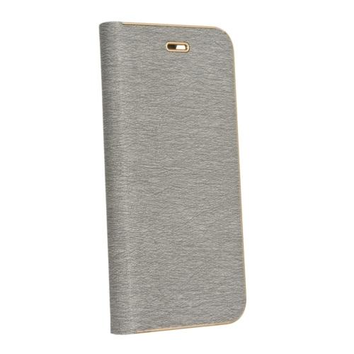 Forcell LUNA Book Gold SAMSUNG Galaxy A72 LTE ( 4G ) telefontok silver