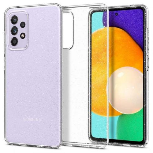 SPIGEN Liquid Crystal Glitter Samsung Galaxy A72 LTE ( 4G ) telefontok glitter transparent