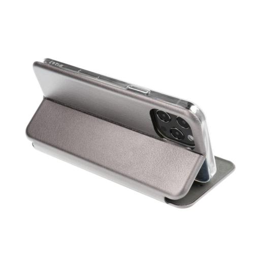 Book Forcell Elegance Samsung Galaxy A52 LTE / A52 5G telefontok grey