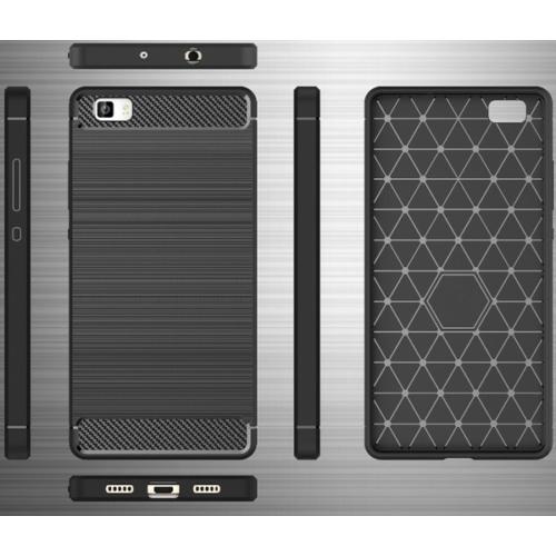 Samsung A72 fekete Carbon szilikon telefontok