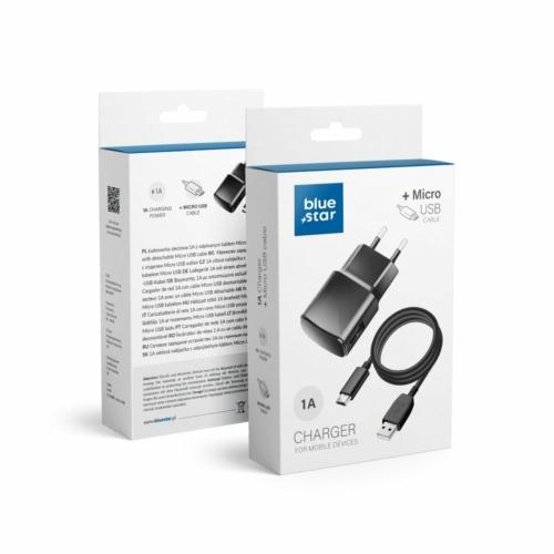 Blue Star Micro USB töltő 1A