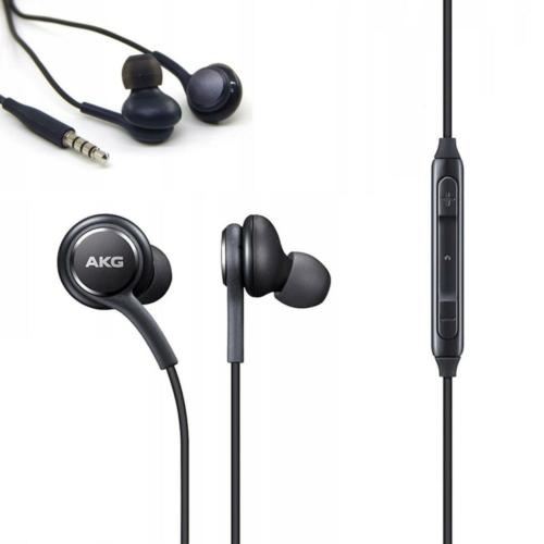 Eredeti Stereo Headset / Fülhallgató Samsung (AKG) EO-IG955 Galaxy S10/S10+ 3.5 mm fekete