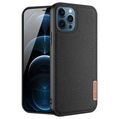 iPhone 12 / 12 Pro telefontok fekete Dux Ducis Fino