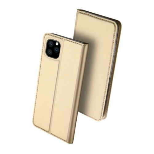 Dux Ducis Skin Pro iPhone 11 Pro arany flipcover telefontok