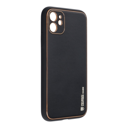 """Forcell LEATHER bőr telefontok IPHONE 11 ( 6,1"""" ) black"""