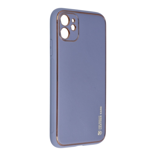 """Forcell LEATHER bőr telefontok IPHONE 11 ( 6,1"""" ) blue"""