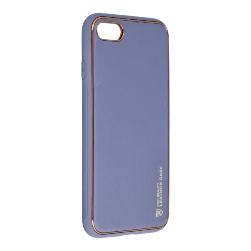 Forcell LEATHER bőr telefontok IPHONE 7 / 8 / SE 2020 blue