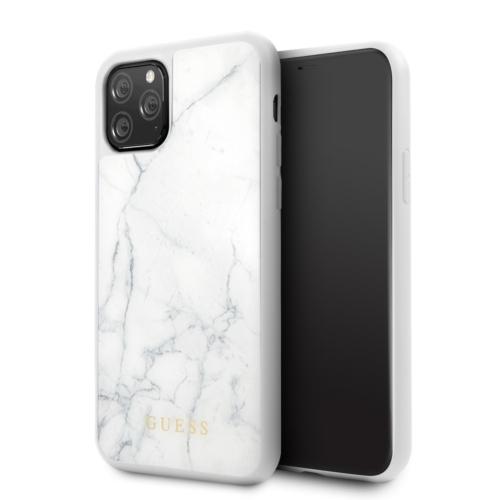 Eredeti GUESS telefontok GUHCN58HYMAWH iPhone 11 Pro white