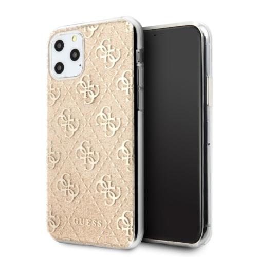 Eredeti GUESS telefontok GUHCN58PCU4GLGO iPhone 11 Pro gold