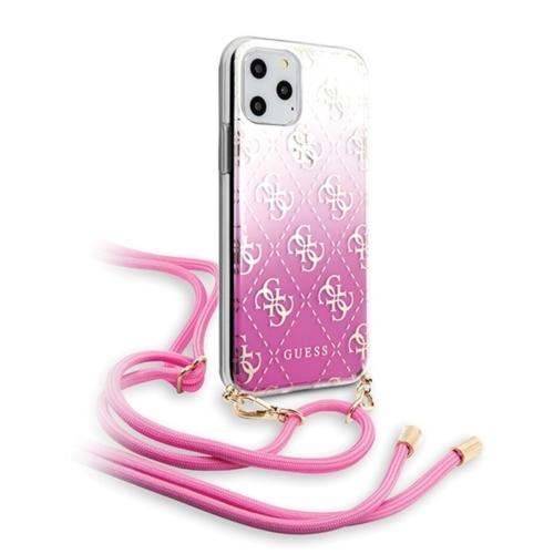 Eredeti GUESS telefontok GUHCN58WO4GPI iPhone 11 Pro pink