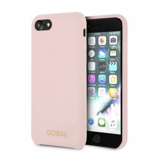 Eredeti GUESS telefontok GUHCPXLSLMGLP iPhone X/Xs light pink