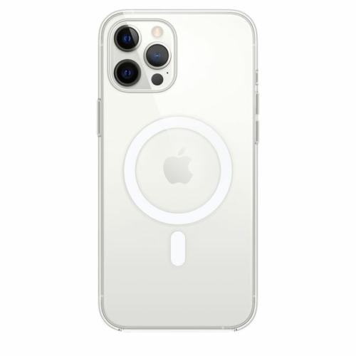 iPhone 12 / 12 Pro mágnesgyűrűs tok - átlátszó