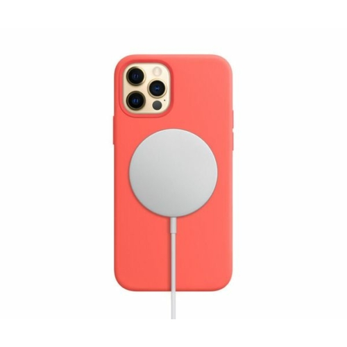 iPhone 12 Pro mágnesgyűrűs szilikon tok - piros