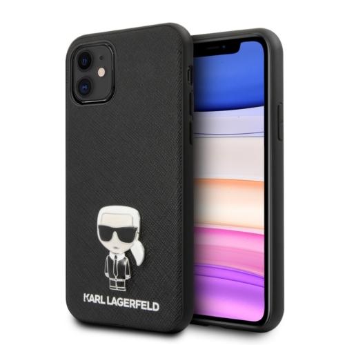 KARL LAGERFELD telefontok KLHCN61IKFBMBK iPhone 11