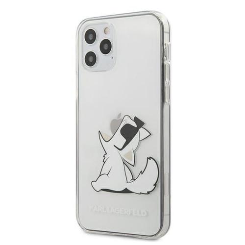 KARL LAGERFELD telefontok KLHCP12LCFNRC iPhone 12 PRO MAX transparent