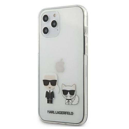 KARL LAGERFELD telefontok KLHCP12LCKTR iPhone 12 PRO MAX transparent
