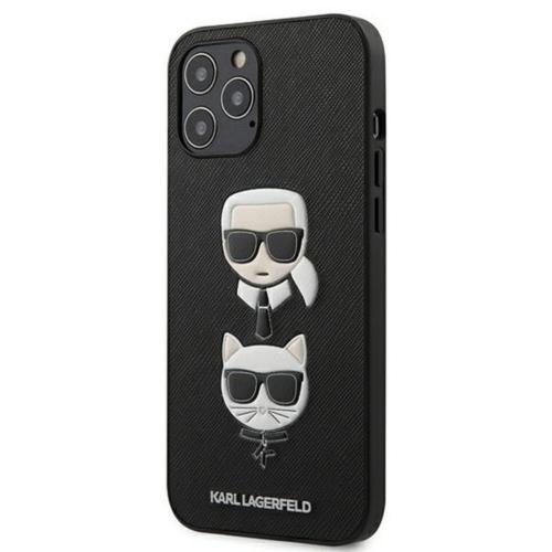 KARL LAGERFELD telefontok KLHCP12LSAKICKCBK iPhone 12 PRO MAX