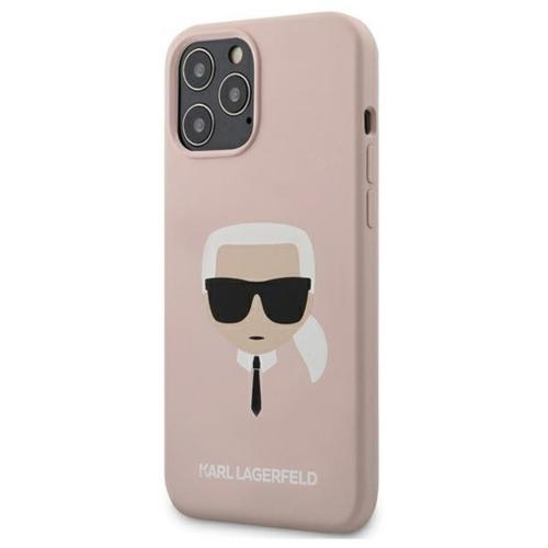 KARL LAGERFELD telefontok KLHCP12LSLKHLP iPhone 12 PRO MAX pink