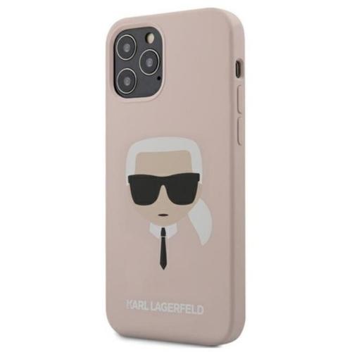 KARL LAGERFELD telefontok KLHCP12MSLKHLP iPhone 12 / 12 PRO pink