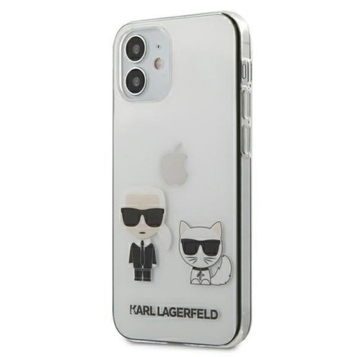 KARL LAGERFELD telefontok KLHCP12SCKTR iPhone 12 MINI transparent