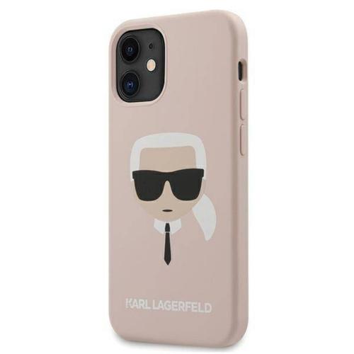 KARL LAGERFELD telefontok KLHCP12SSLKHLP iPhone 12 MINI pink