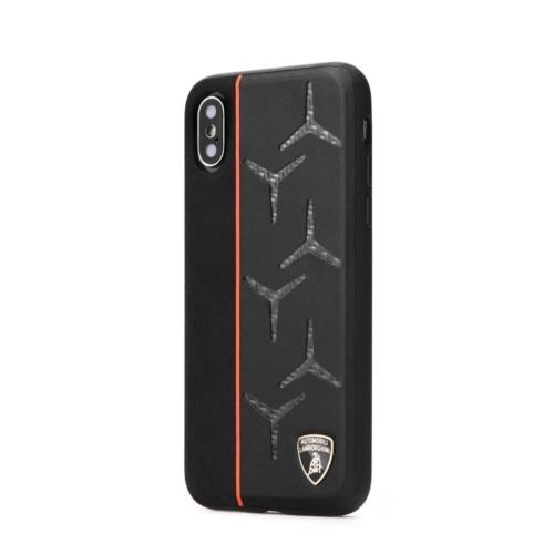 Eredeti Lamborghini bőr telefontok AVENTADOR D12 LB-TPUPCIPXR-AV/D12-OE iPhone XR