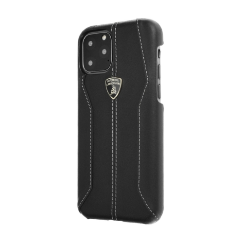 Eredeti Lamborghini bőr telefontok Huracan-D1 LB-HCIP11M-HU/D1-BK iPhone 11 Pro Max
