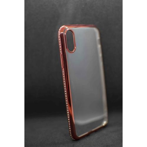 iPhone X / iPhone XS Rosegold Diamond telefontok