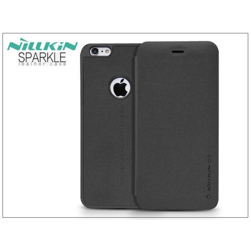 iPhone 6+ fekete Nillkin Sparkle telefontok